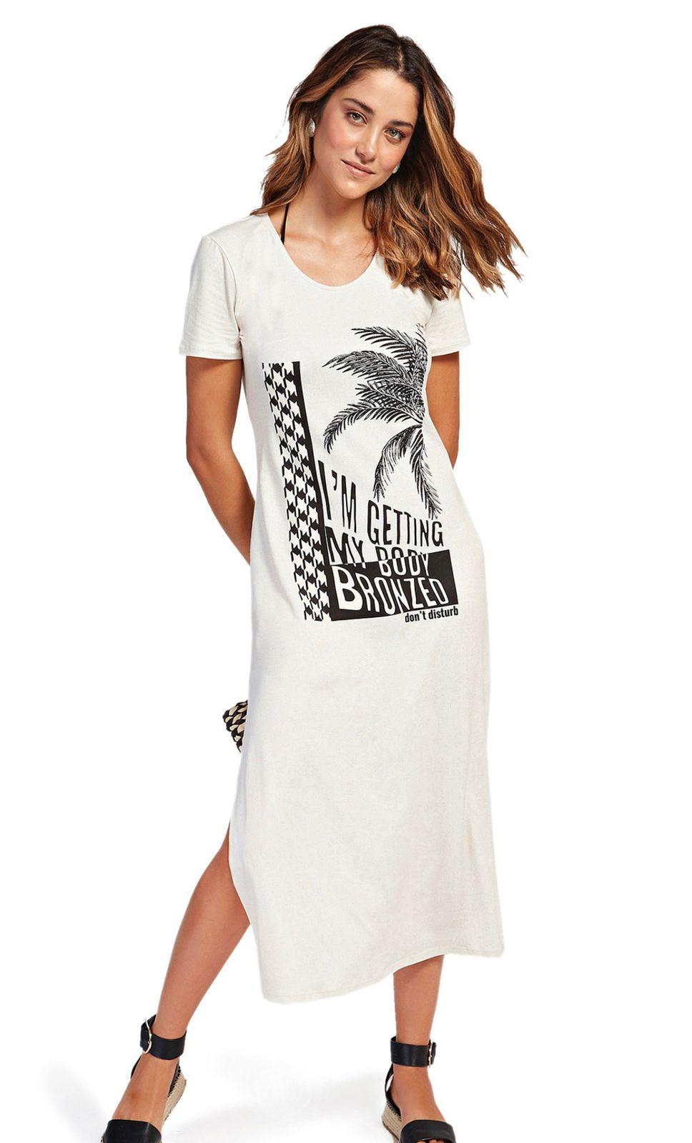 T-shirt Dress Morena Rosa Beach