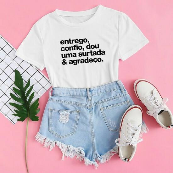 T-shirt Entrego, Confio