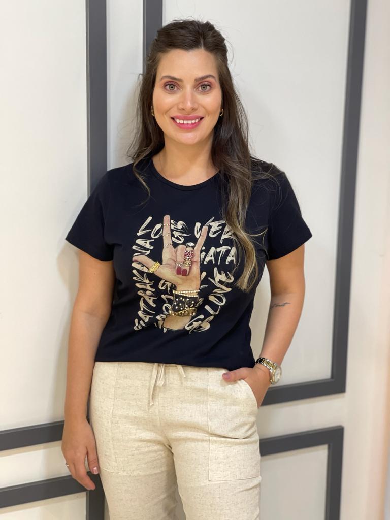 T-shirt Rebel Love Gatabakana