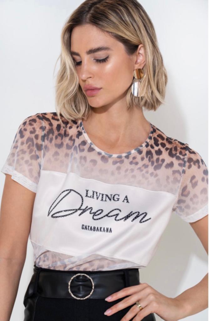 T-Shirt Tule Animal Print