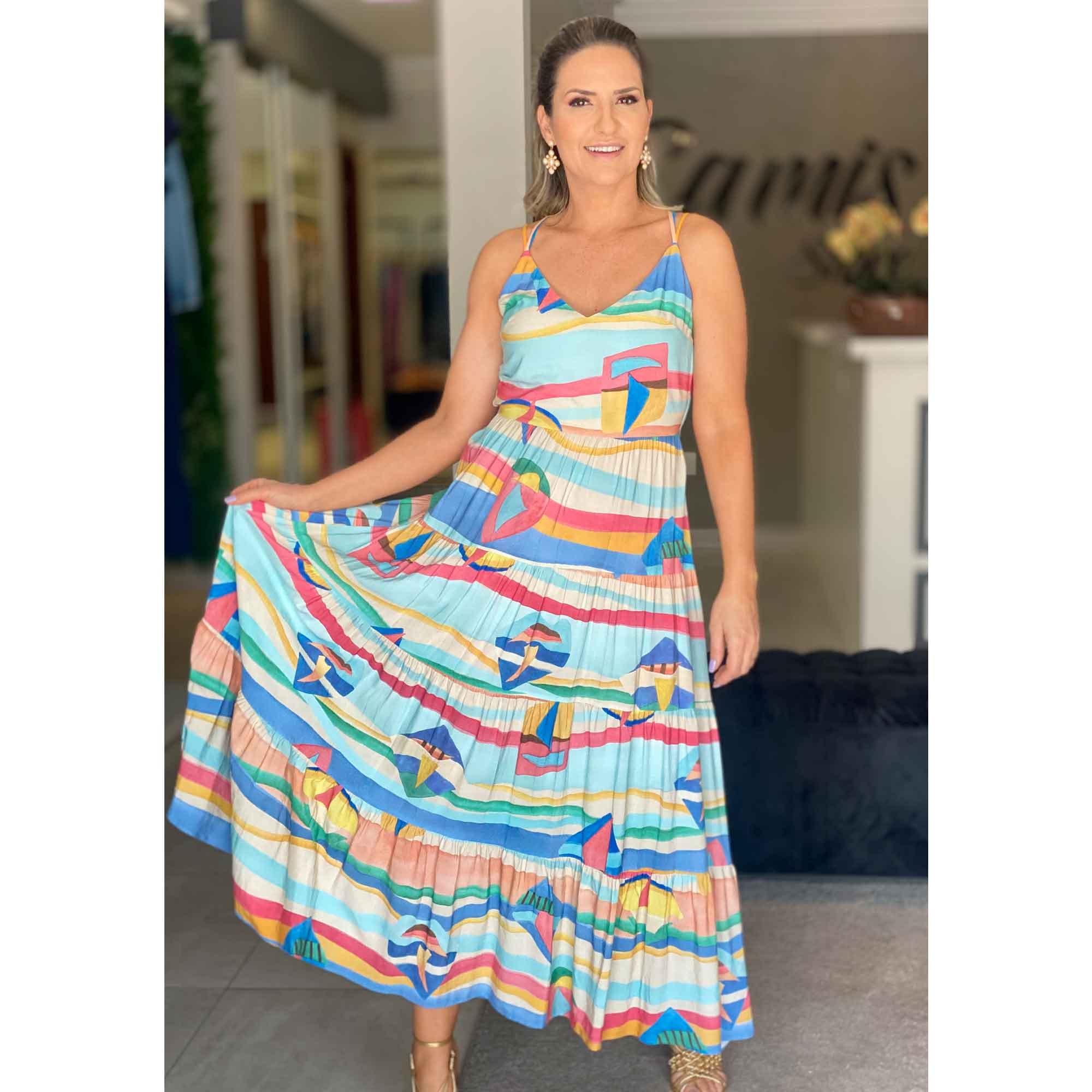 Vestido Midi Jangada - Lez a Lez