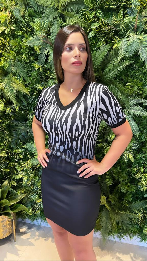 Vestido Mix Animal Print