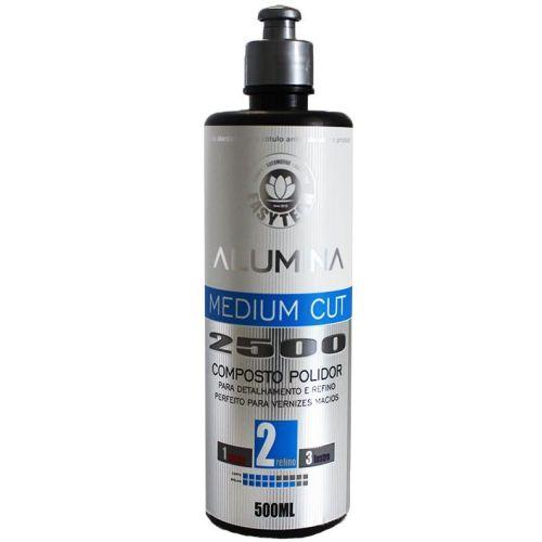 Alumina Medium Cut 2500 Composto Polidor Refino 500ml Easytech
