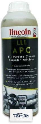 APC LL1 Limpador Multiuso Concentrado 2L Lincoln
