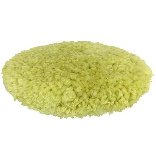Boina de Lã Dupla Face Fio Amarelo Flex 8