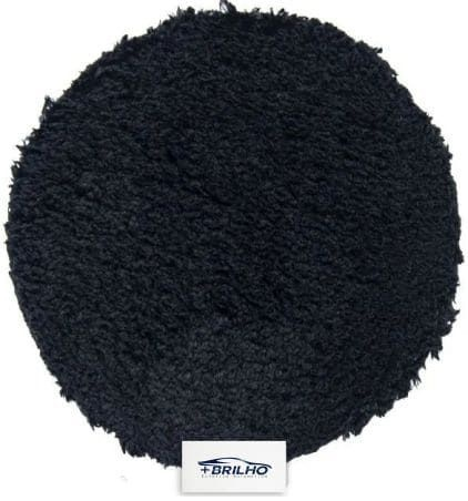 Boina de Microfibra Preta 5,5