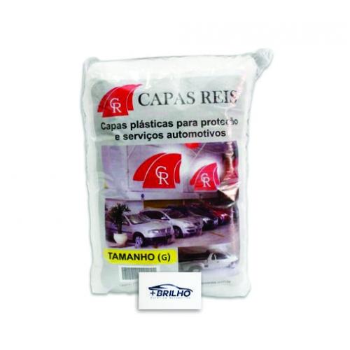 CAPA AUTOMOTIVA TRANSPARENTE TAMANHO G 1UN - CAPA REIS
