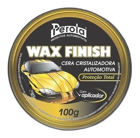 Cera Cristalizadora Wax Finish 100g Pérola