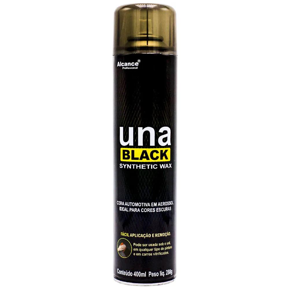 Cera Una Black Synthetic Wax Spray 400ML Alcance