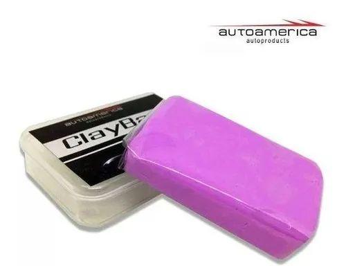 Clay Bar  - Abrasividade Média 100G Autoamerica