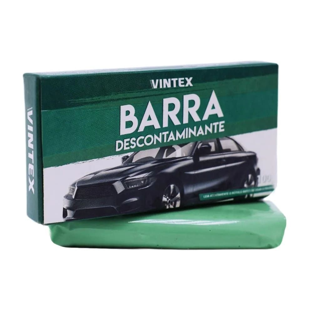 Clay Bar Barra Descontaminante VBar 100g Vintex