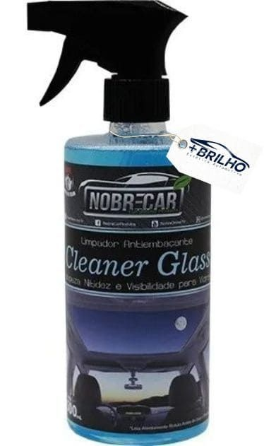 Cleaner Glass Limpa Vidros 500ml Nobre Car