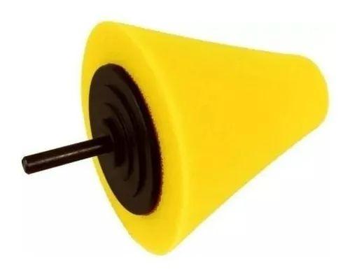 Cone de Espuma para Polimento de Rodas Detailer