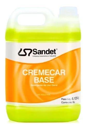 Cremecar Base  Detergente de Uso Geral 5L Sandet
