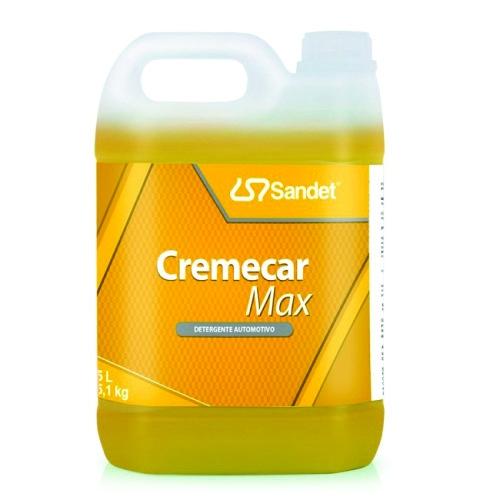 Cremecar Max Detergente Automotivo 5 Litros Sandet