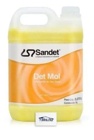Detmol Detergente Lava Moto Automotivo 2L Sandet