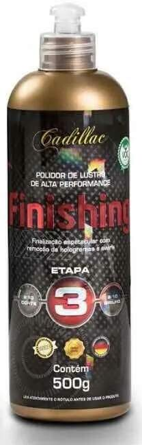 Finishing Polidor Lustro 500g Cadillac