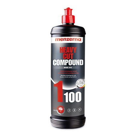 Heavy Cut Compound 1100 Composto Polidor Corte 1L Menzerna