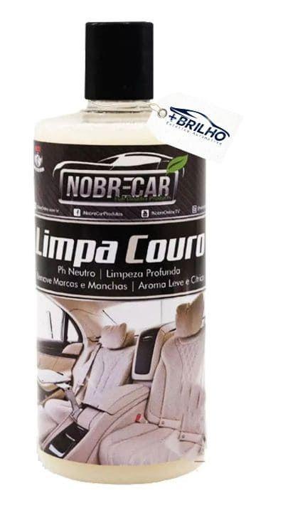 Limpa Couro 500ml Nobre Car