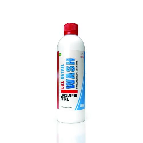 LS1 Wash Shampoo Neutro Super Concentrado 500ml Lincoln