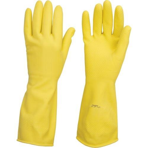 Luva Látex Amarela Com Forro G Vonder
