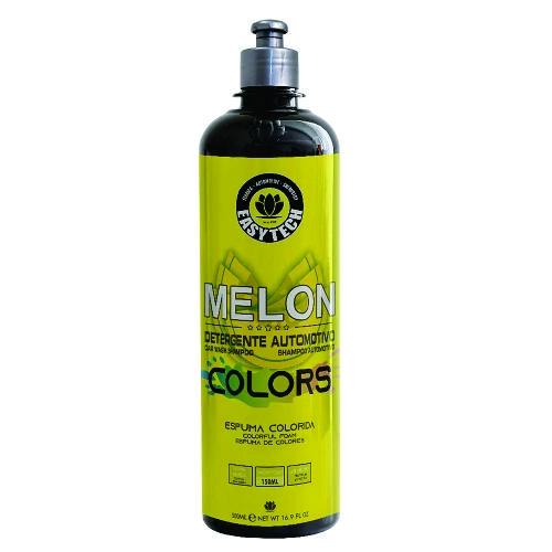 Melon Colors Espuma Amarela - Shampoo Automotivo Neutro Concentrado 500ml Easytech