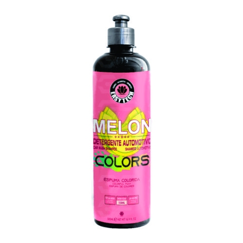 Melon Colors Espuma Rosa - Shampoo Automotivo Neutro Concentrado 500ml Easytech