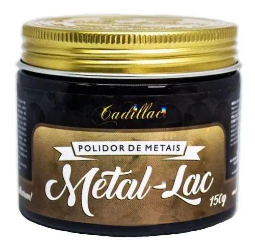 Metal Lac Polidor de Metais 150g Cadillac