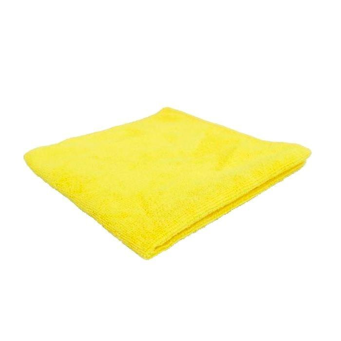 Pano de Microfibra 38x38 230gsm Amarelo Mandala