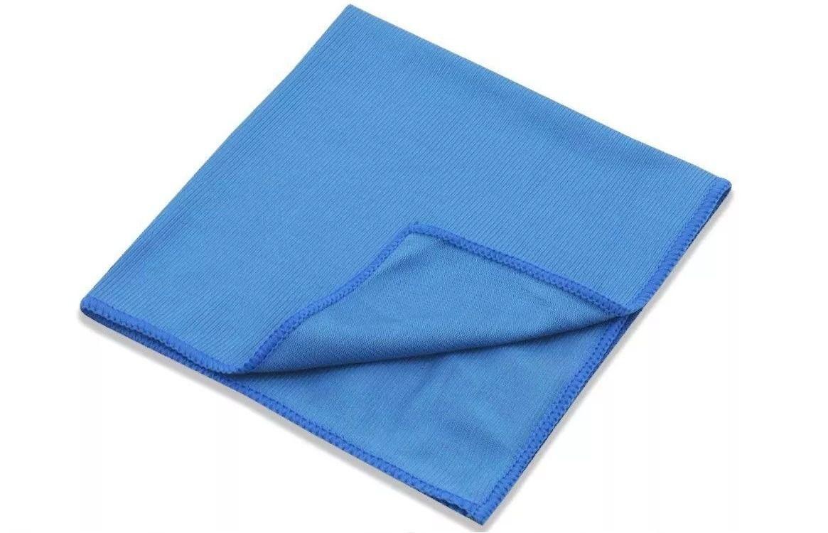 Pano Vidro 38x38cm azul Mandala