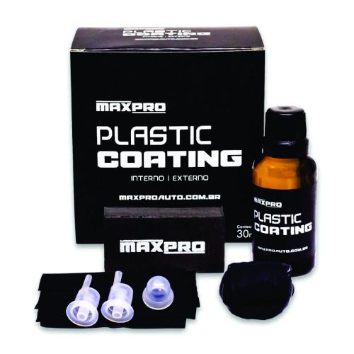 Plastic Coating - Vitrificador Plásticos Alto Rendimento 30ml MaxPro