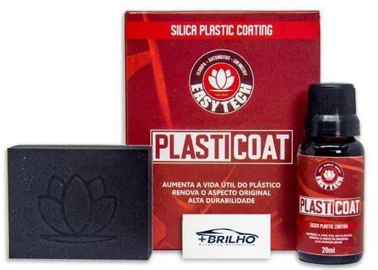 Plasticoat Vitrificador de Plastico 20ml Easytech