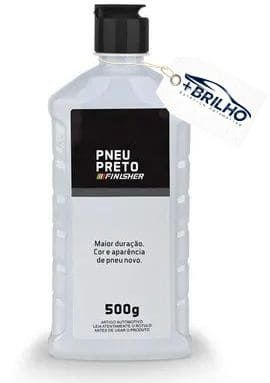 Pneu Preto 500g Finisher