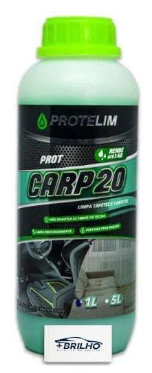 Prot Carp20 Limpa Estofados e Carpete 1L Protelim