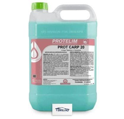 Prot Carp 20 Limpa Estofados e Carpete Concentrado 5L Protelim