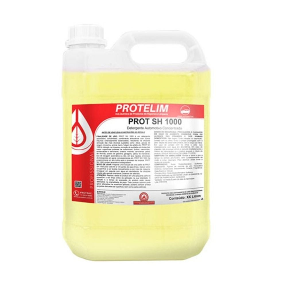 Prot SH1000 Shampoo Automotivo 5L Protelim