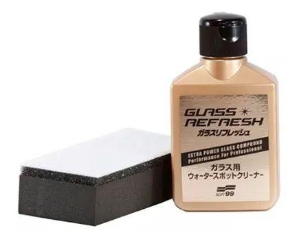 Removedor de Mancha de Vidro Glass Refresh 80ml Soft99