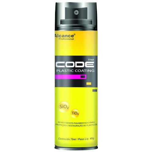 Revestimento Coating Para Plásticos Aerossol 65ml - Code - Alcance