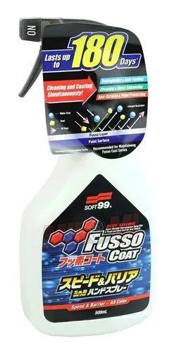 Selante Spray Para Manutenção e Proteção de Pintura Fusso Speed 500ml Soft99