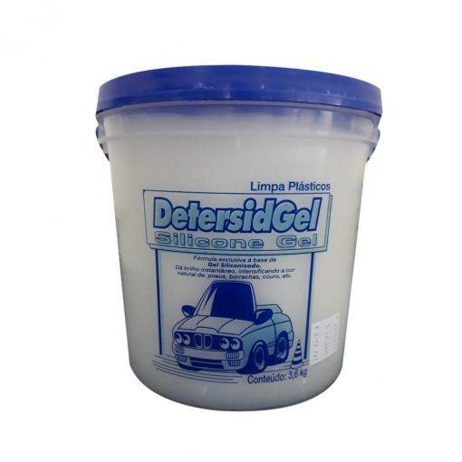 Silicone Gel Automotivo Profissional 3,6 Kg Detersid