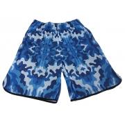 Bermuda camuflada Azul Dry Fit