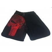 BERMUDA DRY FIT JUSTICEIRO RED
