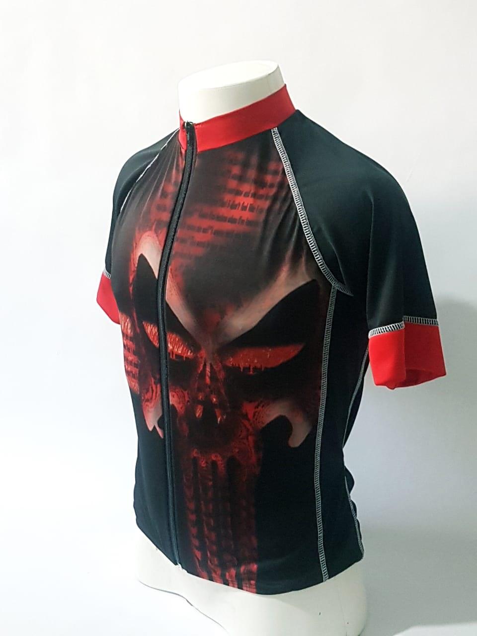 Camiseta Ciclismo com Ziper frontal