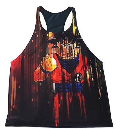 Camiseta Regata Academia Goku