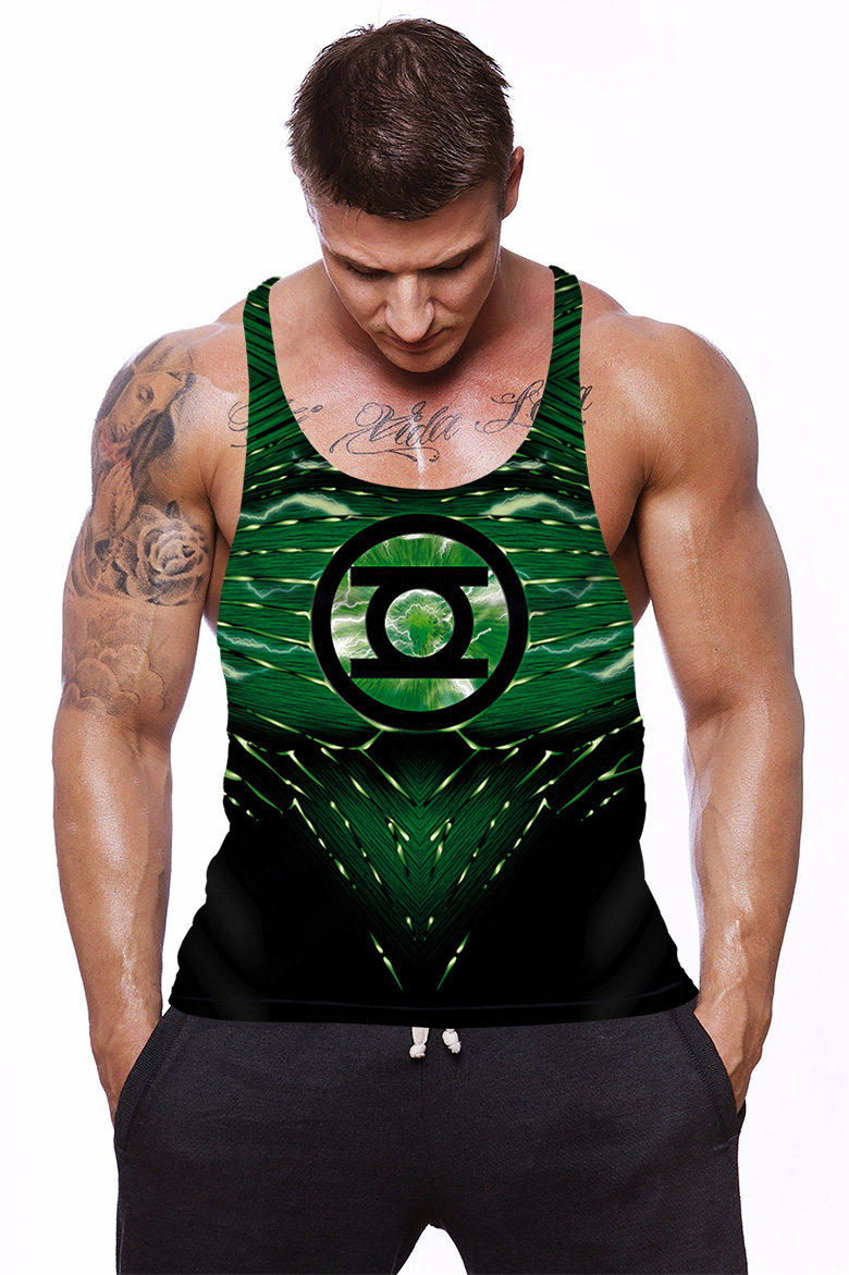 Camiseta Regata Academia  Lanterna verde