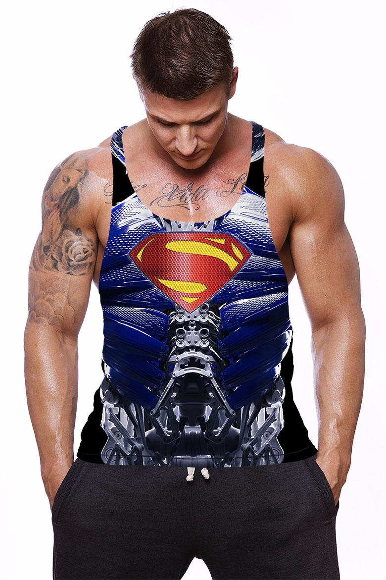 Camiseta Regata Academia  Super Ciborg