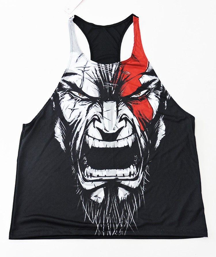 Regata cavada Academia Kratos God Of War