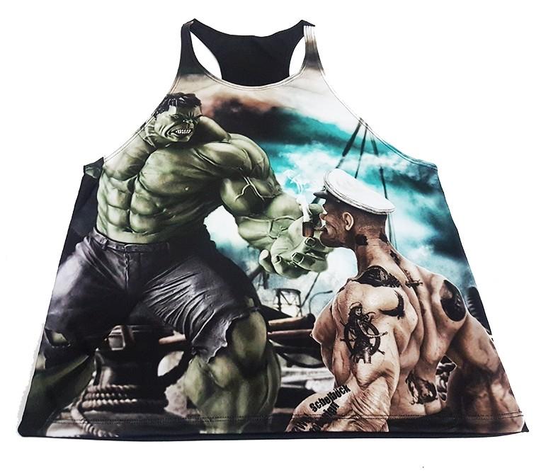 regata cavada Popeye vs Hulk