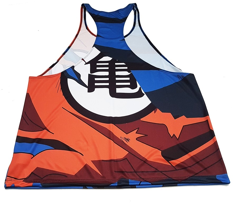Regata cavada Tank Top Uniforme Goku