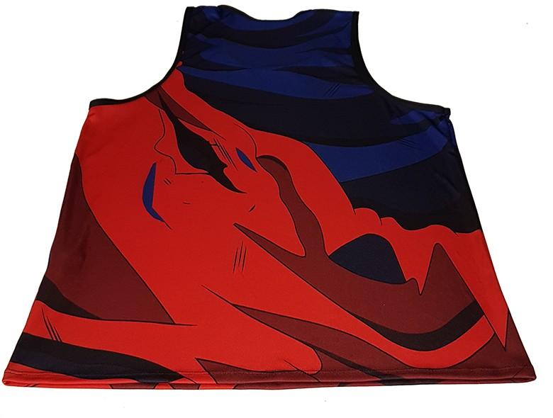 Regata Machao Goku uniforme Batalha